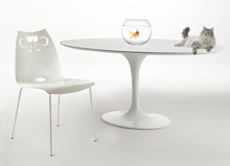 Cats chair de dimarziodesign Moderno