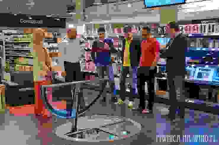 SHOWROOM Spiral Cellars na Ukrainie - Wine Time od PIWNICA na WINO Industrialny