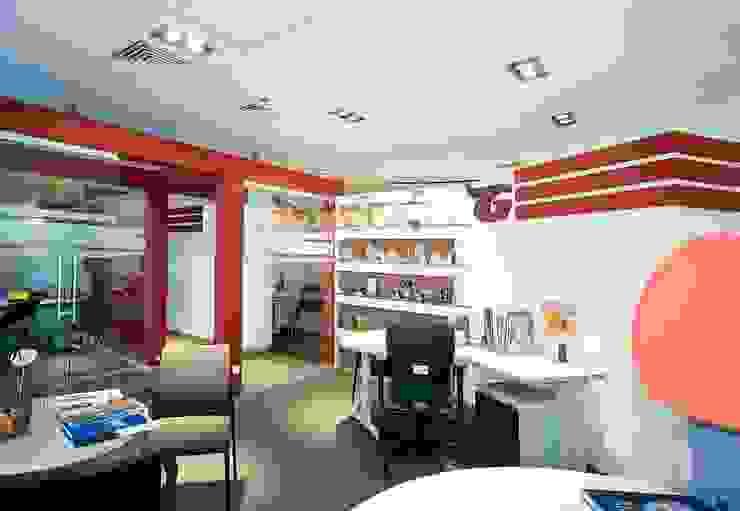 Офис комапнии <q>ГЛОРИЯ</q> Офисные помещения в стиле минимализм от freelancer Минимализм