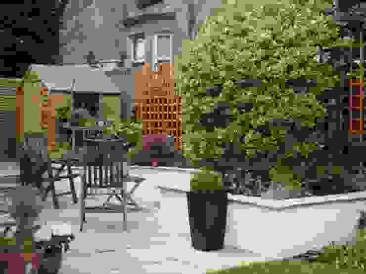 After the extension by Anne Macfie Garden Design