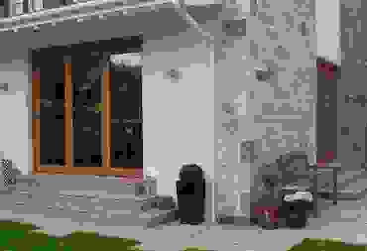 The new extension by Anne Macfie Garden Design