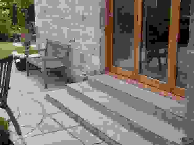 The stone steps by Anne Macfie Garden Design