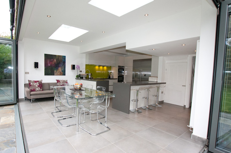 ​Open plan kitchen extension Modern kitchen by LWK London Kitchens Modern
