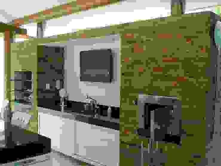 Residência TF Varandas, alpendres e terraços modernos por Mascarenhas Arquitetos Associados Moderno