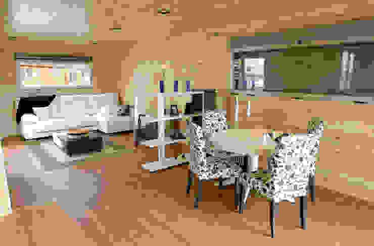Casas Natura Modern dining room