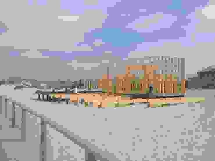 Apoio de Praia Completo - Offshore por SAFE Arquitetura Minimalista