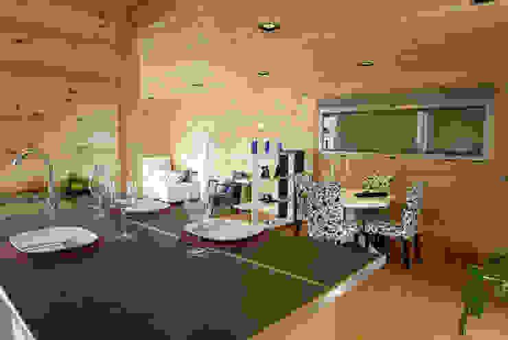 Casas Natura Dapur Modern