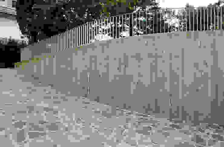 Dettagli esterni STUDIO498 Architettura Garage/Rimessa in stile moderno