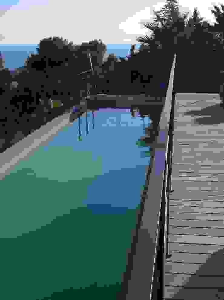 Modern Pool by Vanessa Cottin Modern