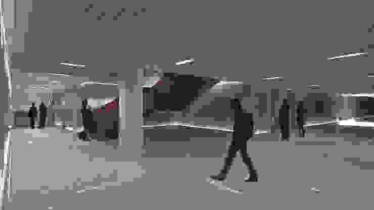 Núcleo edificio B Edificios de oficinas de estilo ecléctico de atelier Victor Salme Ecléctico