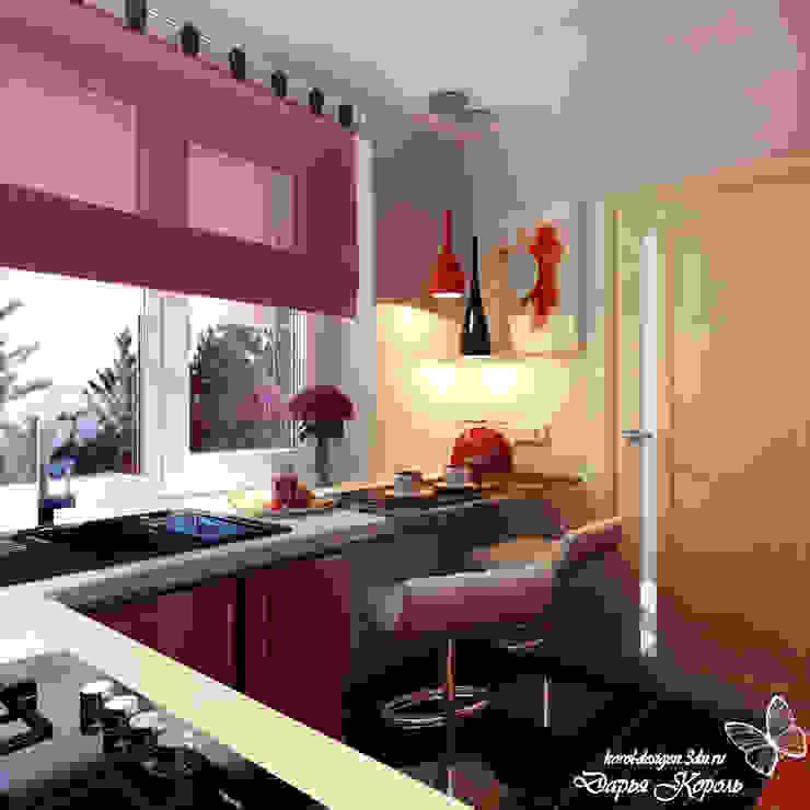 Kitchen for students Sister Кухня в стиле минимализм от Your royal design Минимализм