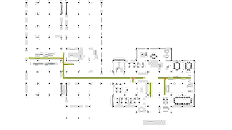 Primera planta de atelier Victor Salme