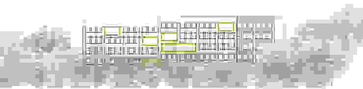Actuación en fachada Norte de atelier Victor Salme