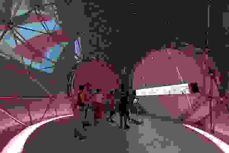 Pabellón del Agua Diseño de ferias de estilo moderno de MARTINEZ VIDAL ARQUITECTOS Moderno