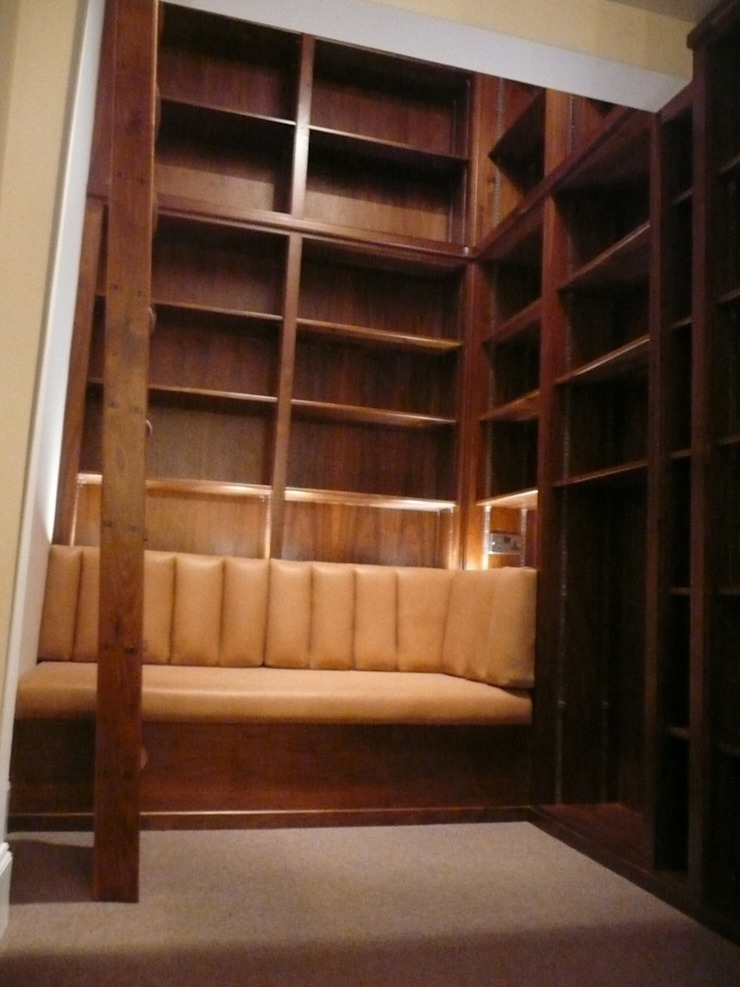 Seating Area: modern  by Simon Rickles Cabinet Making Ltd., Modern