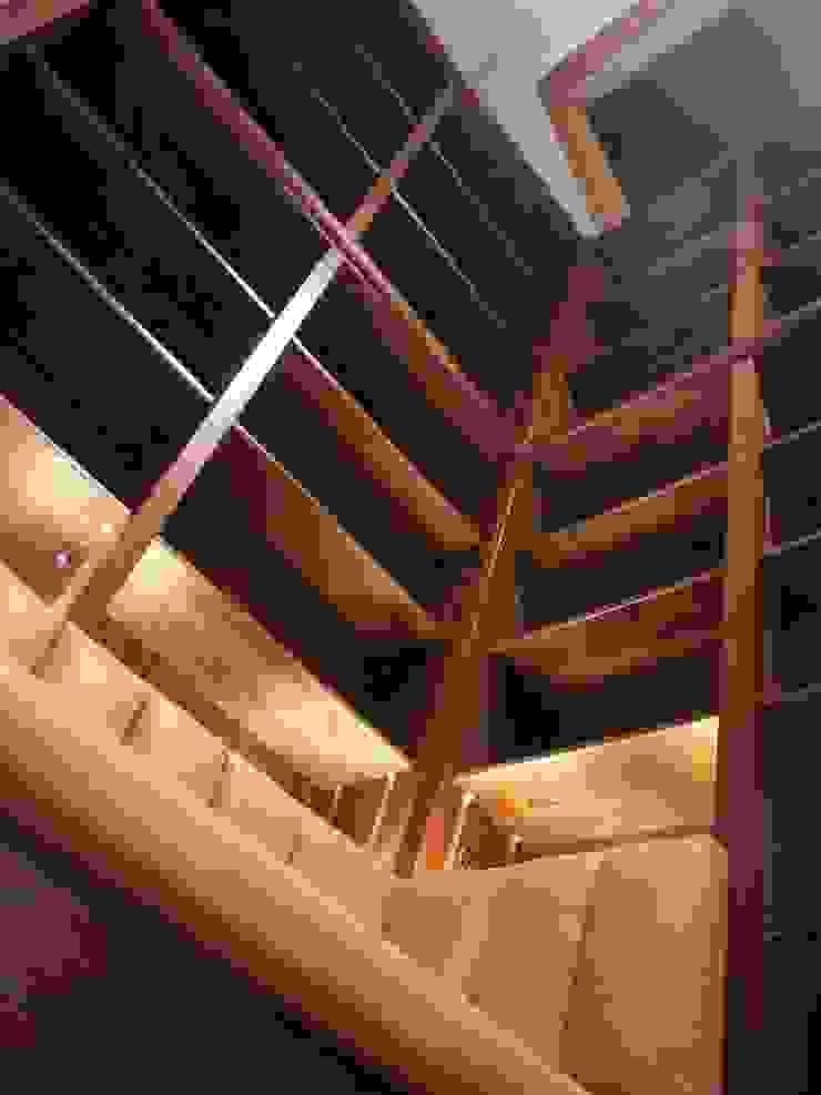 Walnut shelving: modern  by Simon Rickles Cabinet Making Ltd., Modern