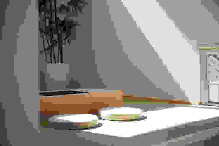 大分の家 モダンデザインの 多目的室 の イノウエセッケイジムショ モダン