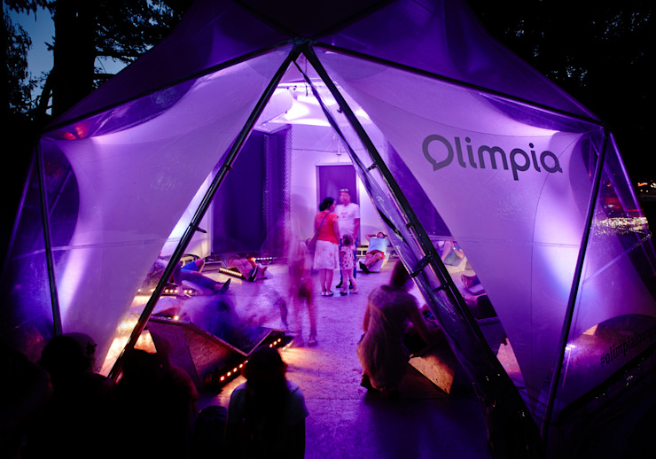 Olimpia Lounge Modern event venues by ZILBERS DESIGN Modern