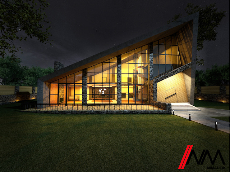 Modern Houses by NM Mimarlık Danışmanlık İnşaat Turizm San. ve Dış Tic. Ltd. Şti. Modern