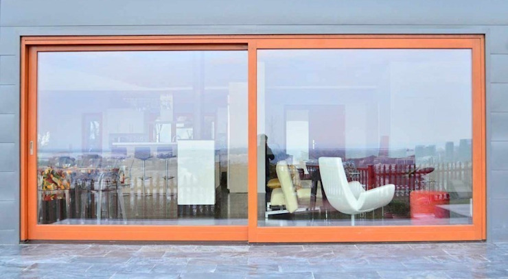 HS Portal Lift & Slide Door Hardware Modern living room by Coastal Joinery Hardware Modern