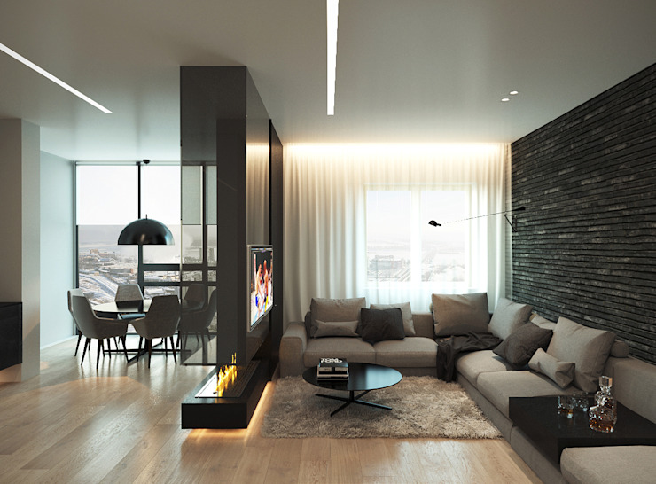 Living room by ECOForma, Minimalist
