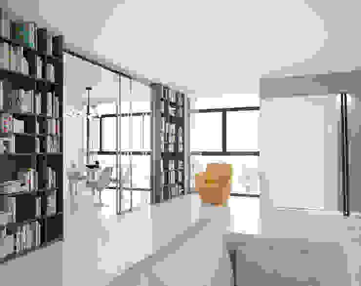 Portes de séparation coulissantes en verre : créativité et luminosité Dressing moderne par PANAGET Moderne