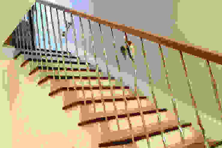 Rose & Thorn Modern corridor, hallway & stairs by Zigzag Design Studio (Sculptural Structures) Modern