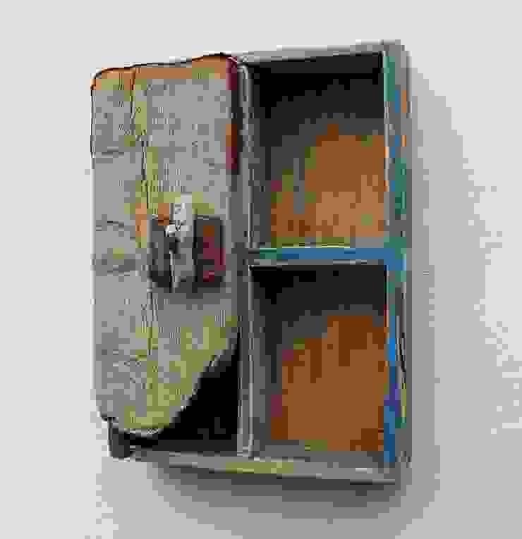 Driftwood wall cabinet: modern  by Julia's Driftwood, Modern