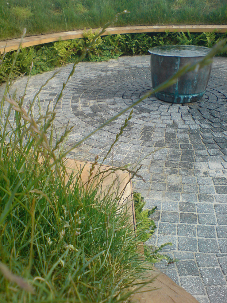 'the ripple' - contemporary public landscape Claire Potter Design Commercial Spaces