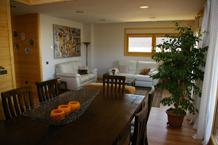 Ruang Makan oleh Casas Natura, Modern