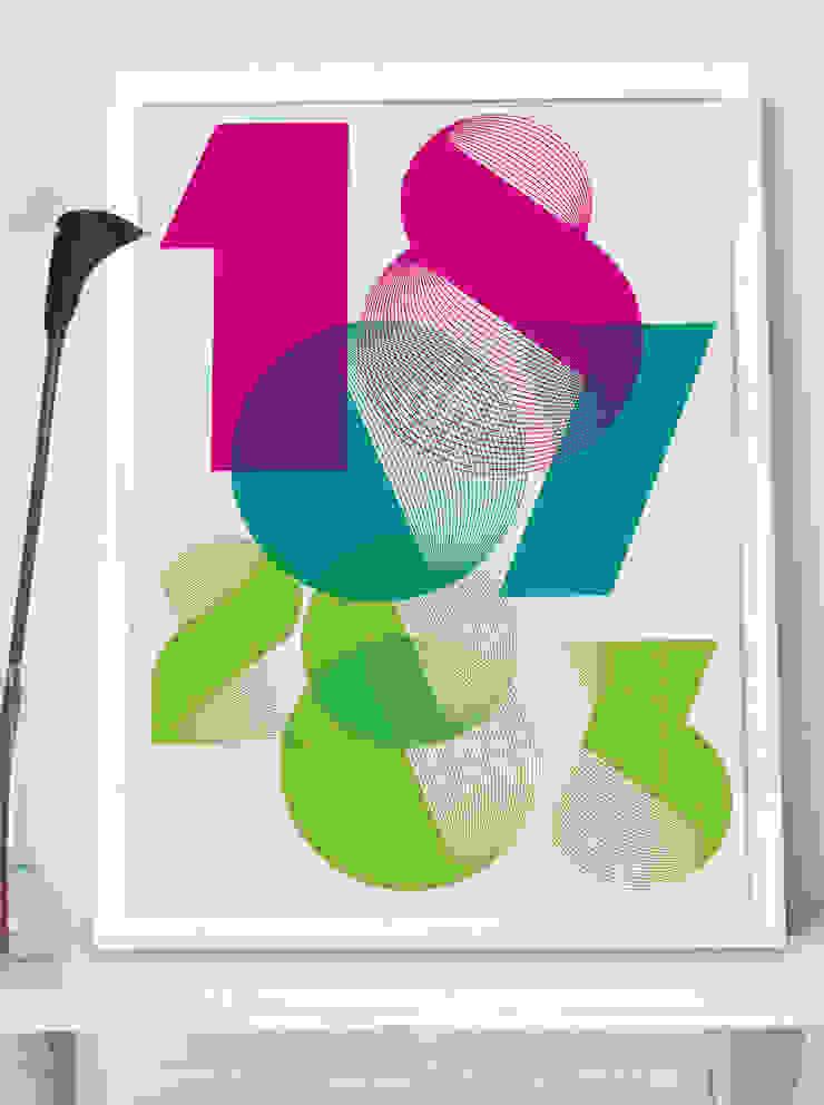 Personalised Print - SPIRO: modern  by MAYKI , Modern