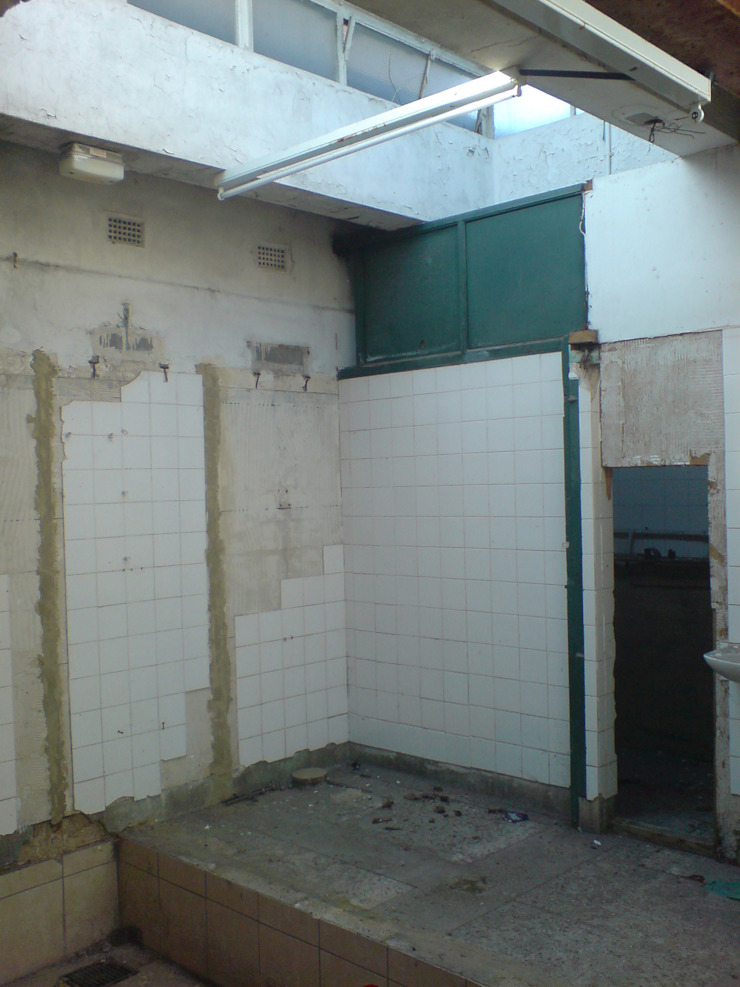 BEFORE - Studio Loo - a new office space from an old public wc by Claire Potter Design