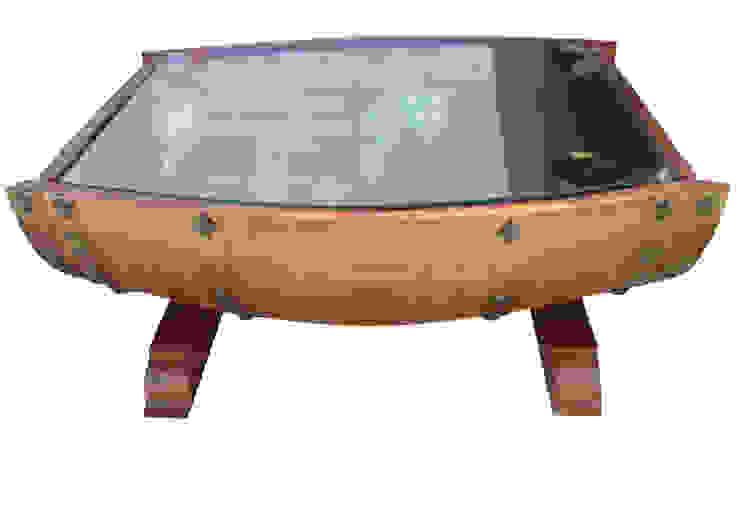 mesa de barrica. de Seedmo Rústico