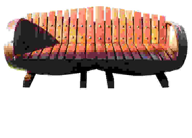 sillón dos barricas de Seedmo Rústico