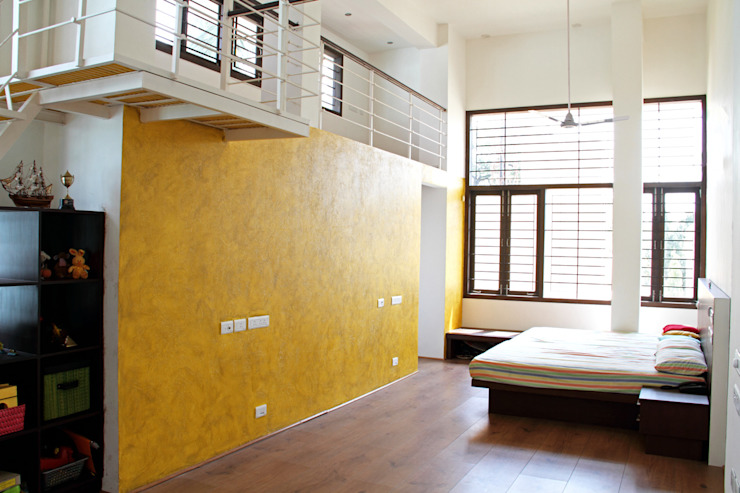 ANAND RESIDENCE Modern nursery/kids room by Muraliarchitects Modern