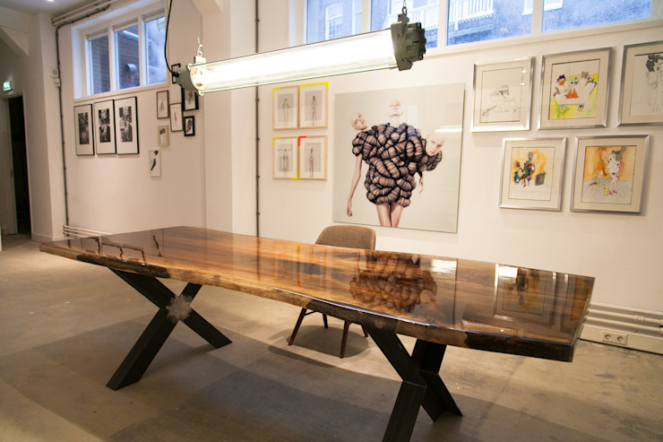 Interior Projects Industriële exhibitieruimten van Blom & Blom Industrieel
