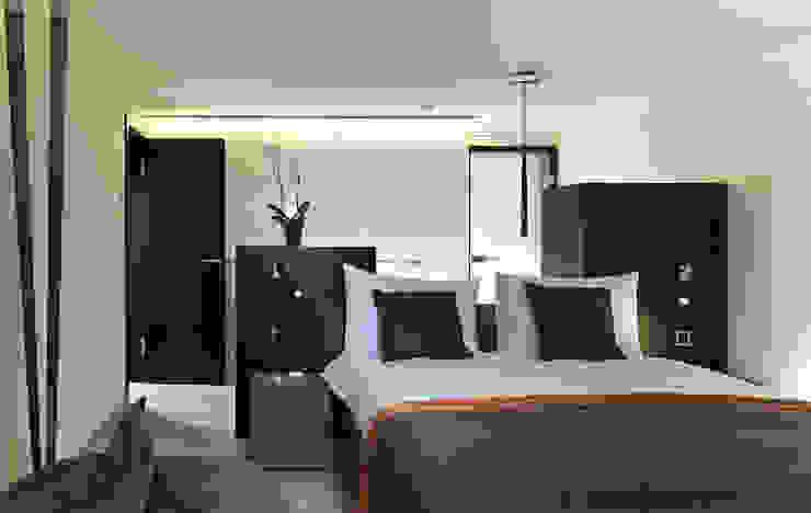 Gästezimmer 2 Moderne Schlafzimmer von Innenarchitektur und Design Dalpiaz Modern