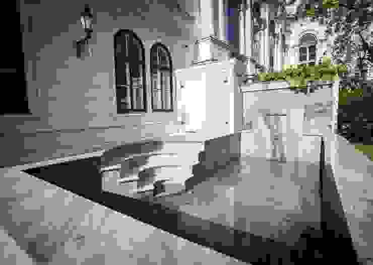 식민지스타일 정원 by SCHUBERT STONE GmbH 콜로니얼 (Colonial)