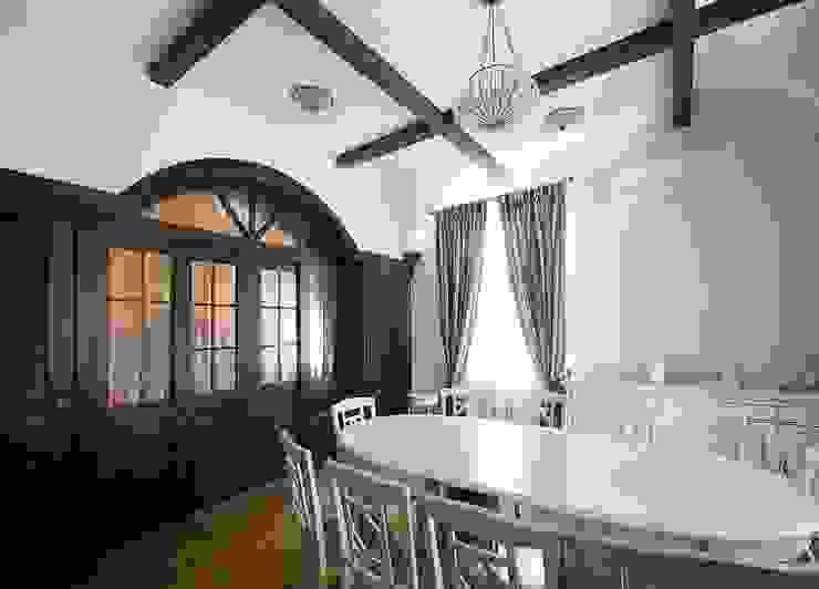 Дом в Средиземноморском стиле Столовая комната в средиземноморском стиле от freelancer Средиземноморский
