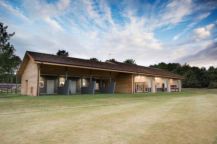 Nike Performance Fitting Centre Exterior Scandinavian style event venues by Aitken Turnbull Architects Scandinavian