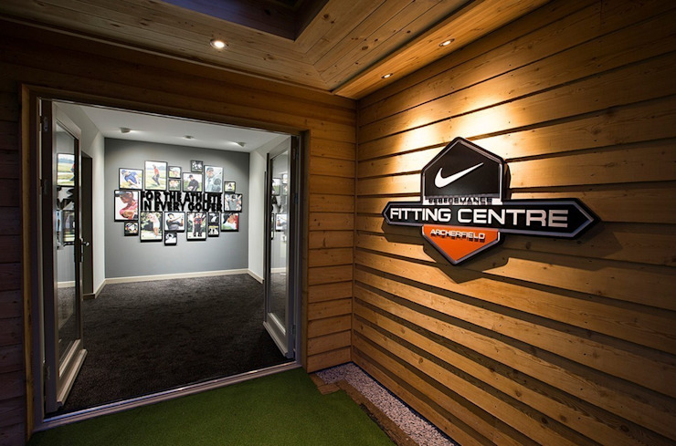 Nike Performance Fitting Centre Interior Scandinavian style event venues by Aitken Turnbull Architects Scandinavian