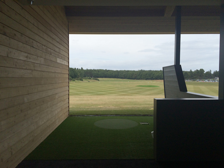 Nike Performance Fitting Centre Scandinavian style event venues by Aitken Turnbull Architects Scandinavian