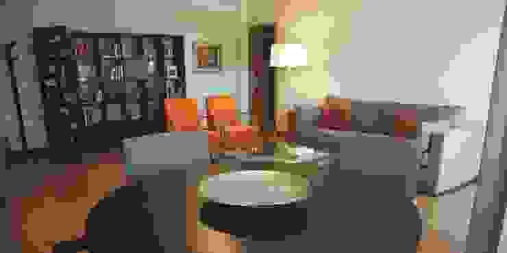 Sala Comum Salas de estar modernas por Traço Magenta - Design de Interiores Moderno