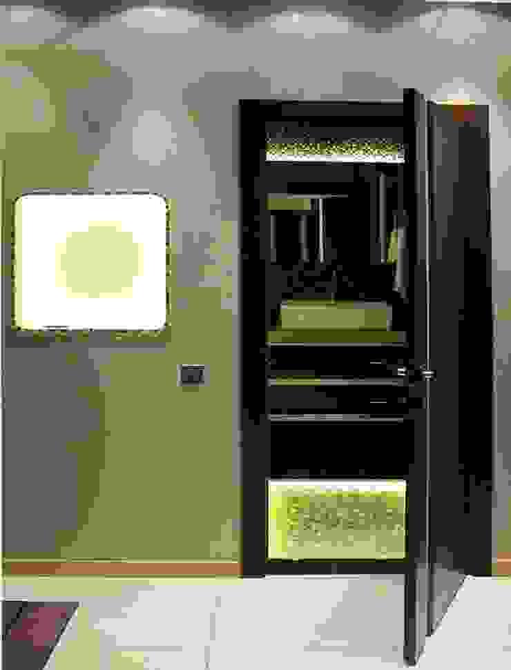 Квартира с мужским характером Ванная комната в стиле минимализм от Дизайн-студия Идея Минимализм
