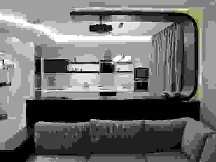 Квартира с мужским характером Кухня в стиле минимализм от Дизайн-студия Идея Минимализм