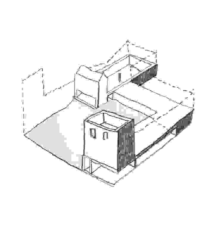 Limite Conceptual Sketch by SHSH Architecture + Scenography