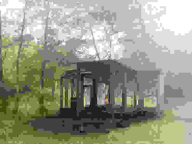 Lesnianski Wooden Pavilion Modern houses by SHSH Architecture + Scenography Modern