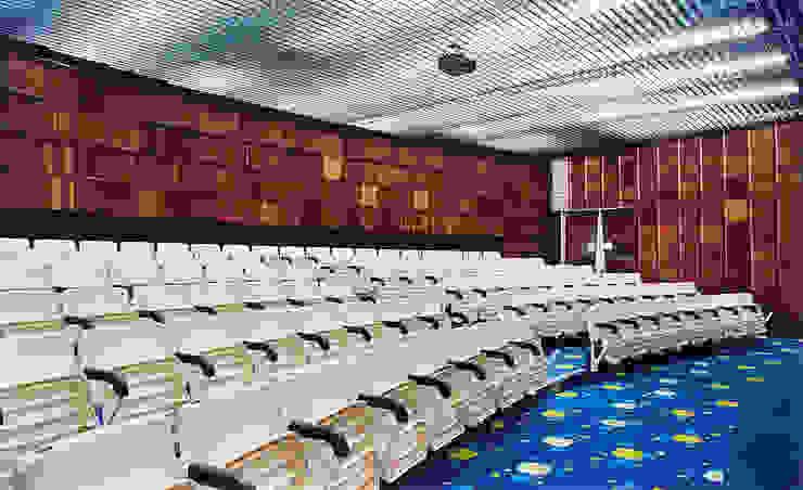 Academia Competition – unidade Paulista | Rua Cincinato Braga Locais de eventos modernos por ARQdonini Arquitetos Associados Moderno