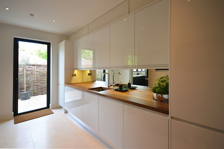 The prep kitchen Modern Kitchen by Zodiac Design Modern