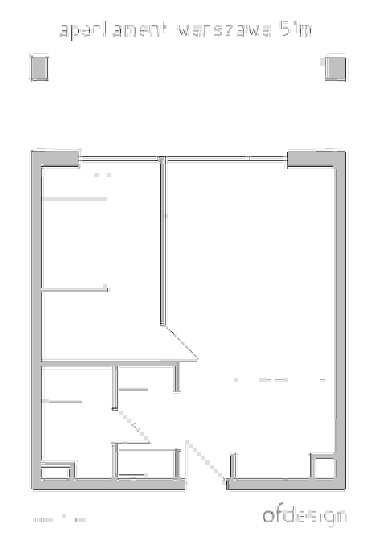 ofdesign Oskar Firek Plywood Warsaw rzut od OFD architects
